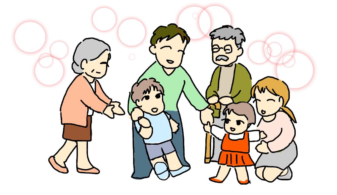 社員の支えは家族の笑顔