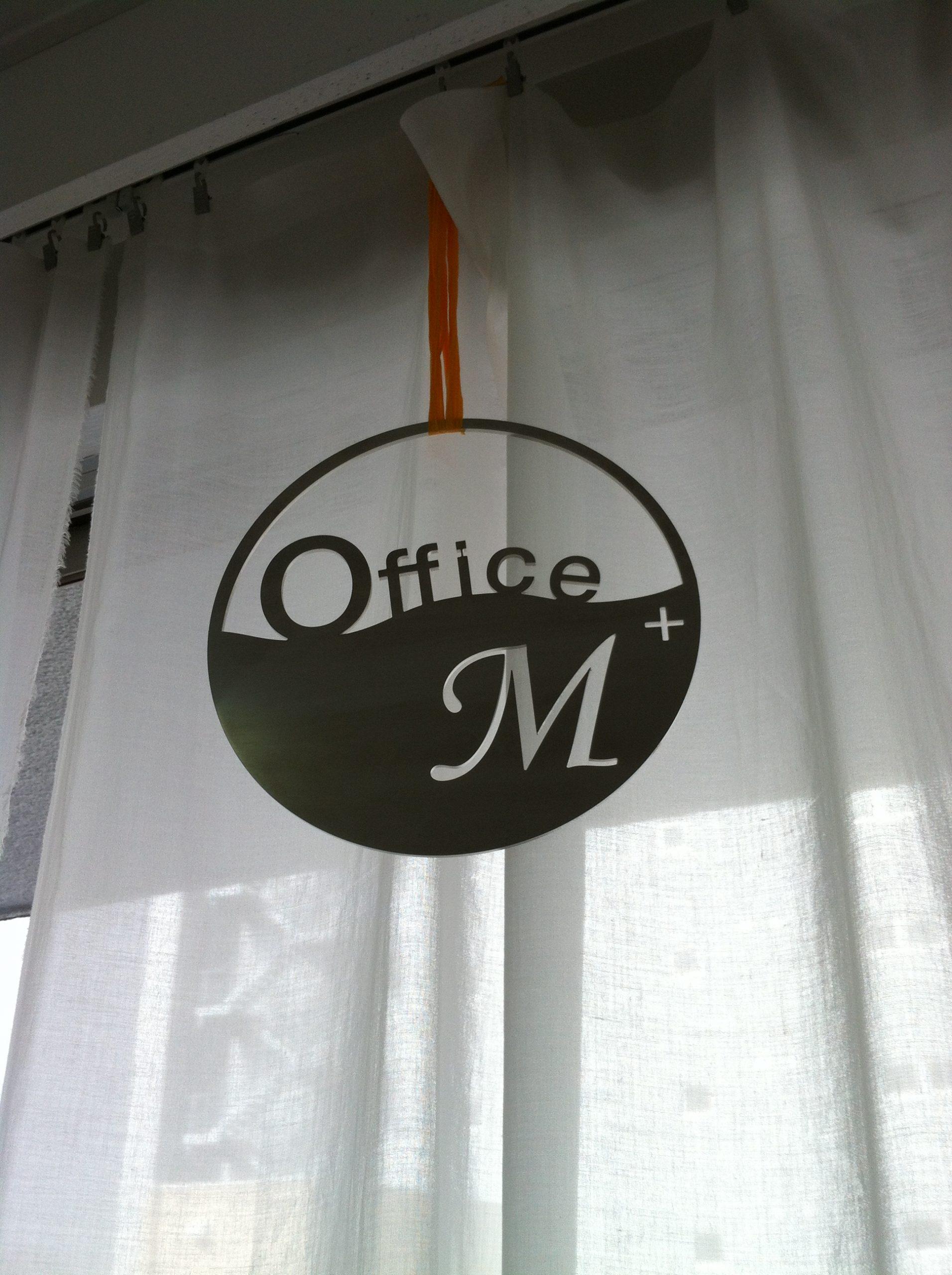 OfficeM ステンレスプレート